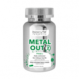 Biocyte Metal out 2 - 90 gélules