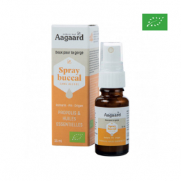 Aagaard Spray buccal BIO Sans alcool - 15ml