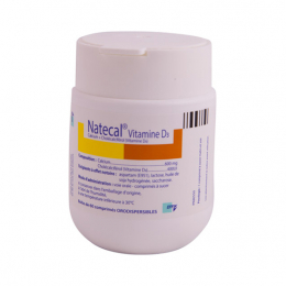 Effik Natecal vitamine D3 600mg - 60 comprimés