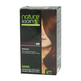 Santé Verte nature et soin coloration permanente chocolat 5M - 129ml