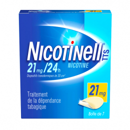 Nicotinell TTS 21mg/24h - 7 patchs