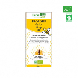 Herbalgem Propolis junior sirop BIO - 150ml