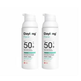 Daylong Sensitive face BB solaire perfecteur SPF50+ Fluide teinté Light medium - 50ml + 1 OFFERT