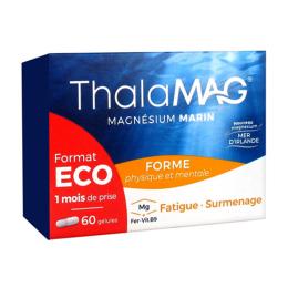 Thalamag Magnésium marin forme physique et mentale - 60 gélules