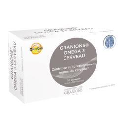 Granions Omega 3 cerveau - 30 capsules