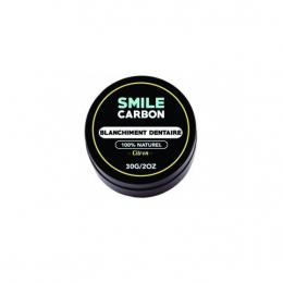 Smile Carbon Blanchisseur de dents naturel citron -30g