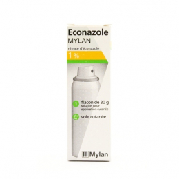 Econazole Mylan 1 % solution - 30g