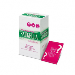 Saugella cotton touch protege slips thym - 40 proteges slips