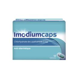 Imodiumcaps 2mg - 12 gélules