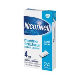 Nicotinell Gomme Menthe Fraîcheur 4mg - 24 gommes à mâcher