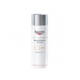 Eucerin Hyaluron-Filler CC Cream Light Crème Teintée Anti-âge - 50ml