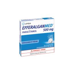 UPSA Efferalgan 500mg  - 16 comprimés effervescents