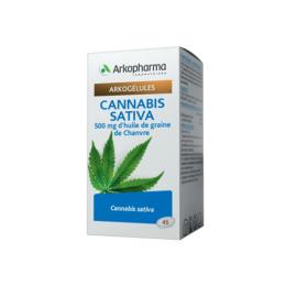 Arkopharma Argogélules Cannabis sativa - 45 gélules