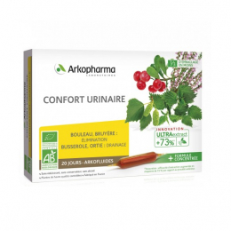 Arkopharma Arkofluides BIO confort urinaire - 20 ampoules