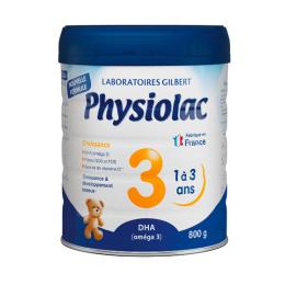 Physiolac croissance 3ème âge - 800g