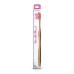 Humble Brush Brosse à dents Bambou Rose - Medium