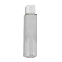 Haut-ségala Flacon PET transparent avec capsule service blanche - 100ml
