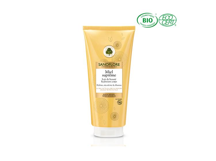 Sanoflore miel suprême lait de beauté hydratant corps BIO - 200ml