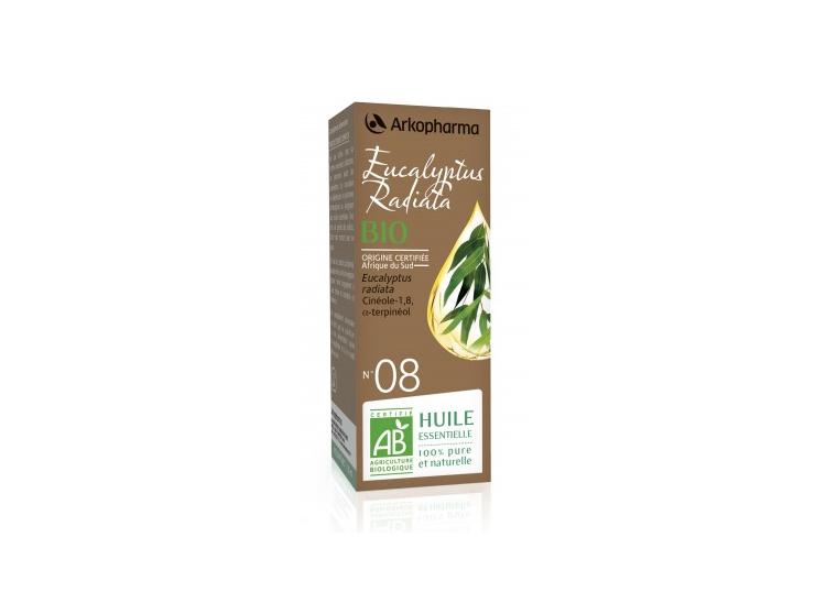 Arkopharma huile essentielle Eucalyptus Radiata BIO N°08 - 10ml