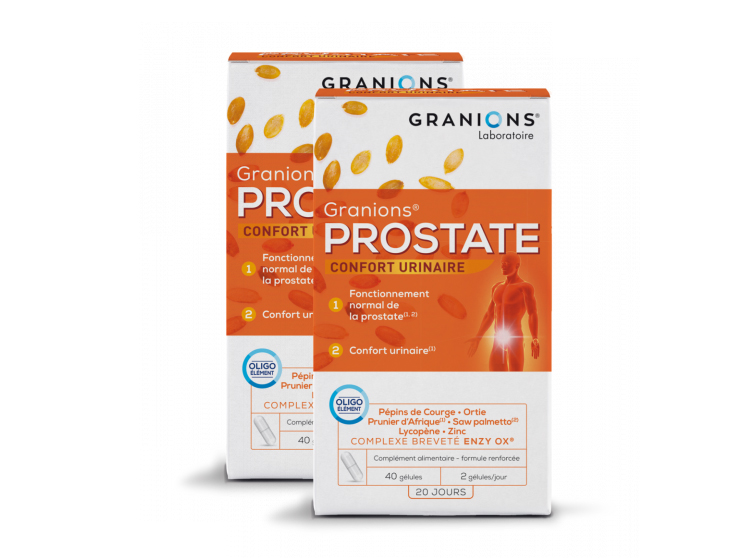 Granions Prostate - 2x40 gélules