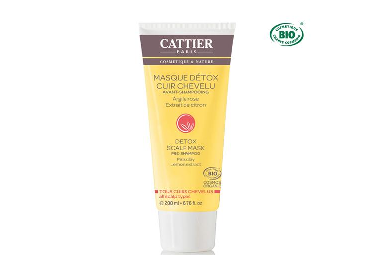 Cattier masque détox cuir chevelu avant-shampooing BIO - 200ml