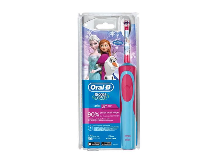 Oral-B kids brosse à dents électrique reine des neiges 3+