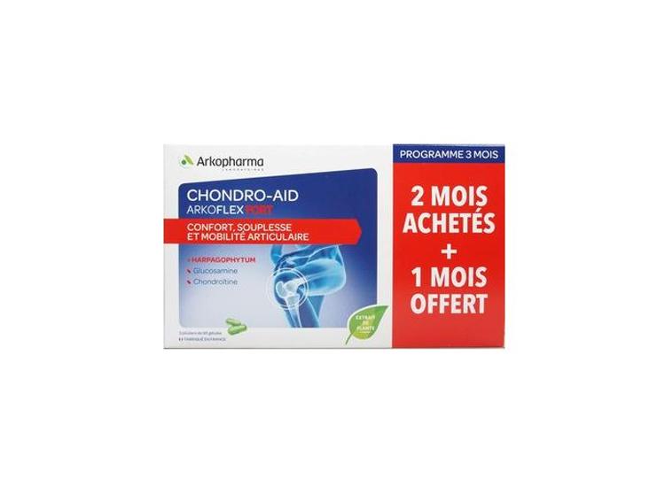 Arkopharma Chondro-Aid Arkoflex fort  - 180 gélules + 90 offertes