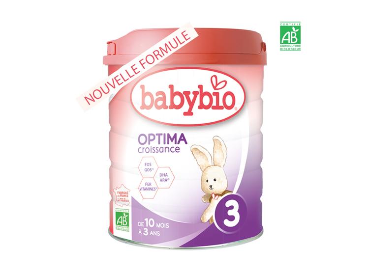 BabyBio Optima 3 Lait BIO - 800g