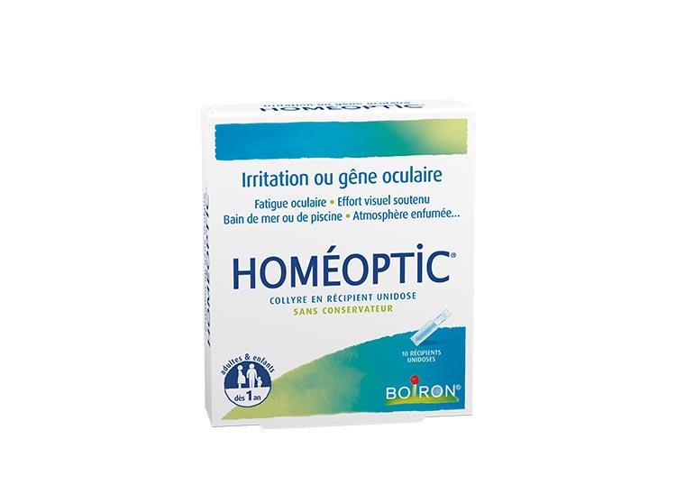 Boiron Homeoptic Collyre - x10 Unidoses