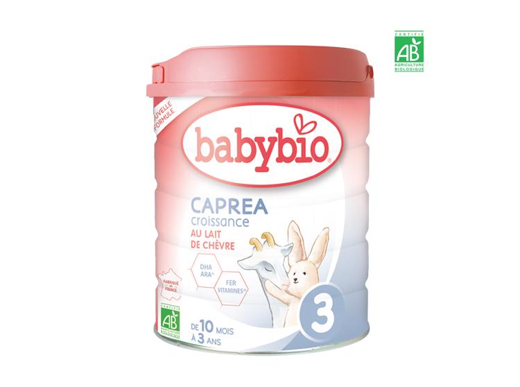 BabyBio Caprea 3 nouvelle formule - 800g