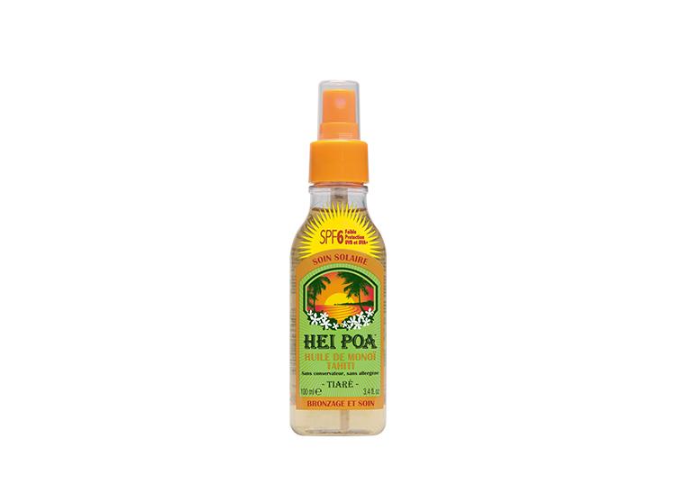 Hei Poa huile de monoï tahiti SPF6 - 100ml