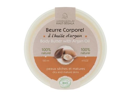 Haut Ségala beurre corporel à l'huile d'argan bio - 120ml