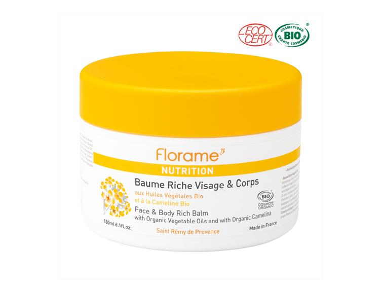 Florame nutrition baume riche visage & corps BIO - 180ml