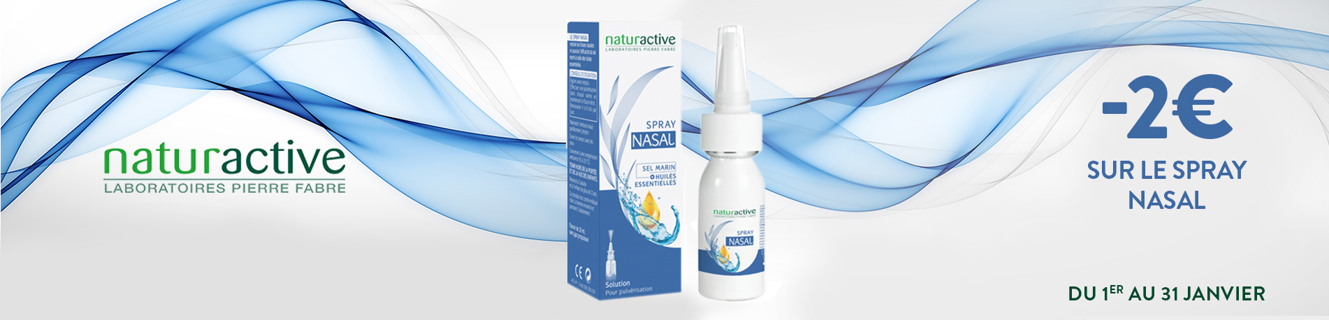 Promotion Nature active Spray nasal