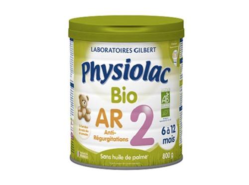 Physiolac lait anti-régurgitations bio 2ème âge - 800g