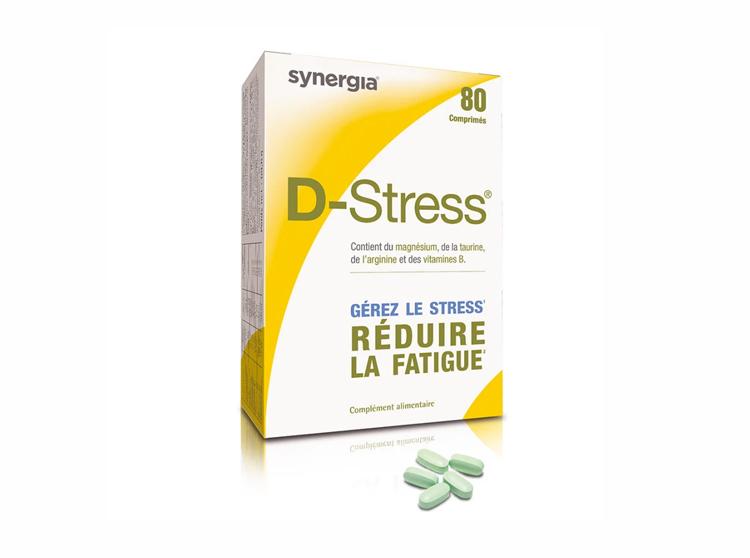 Synergia D-stress - 80 comprimés