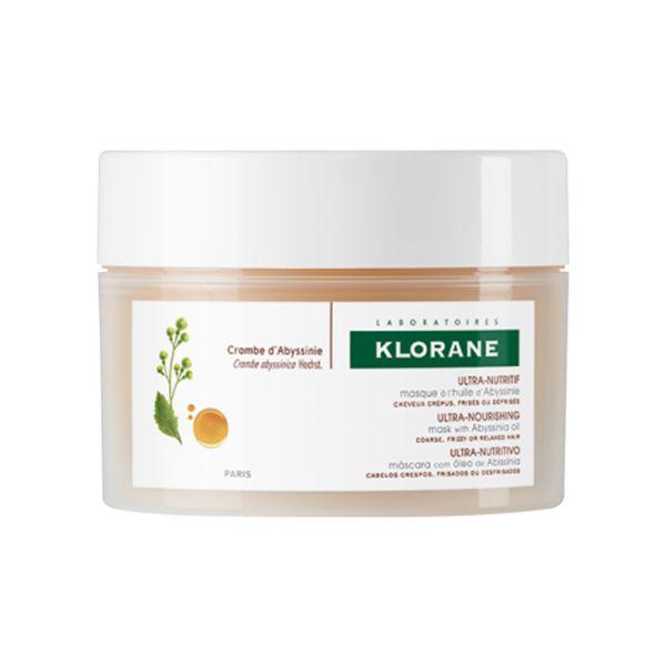 Klorane cheveux crépus masque huile d'abyssinie - 150ml