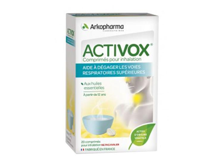 Arkopharma Activox Comprimés pour inhalation - 20 comprimés