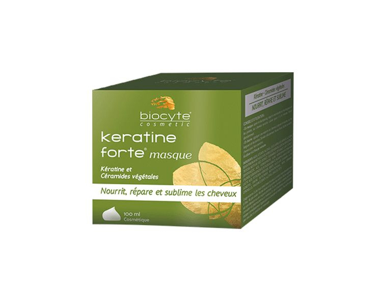 Biocyte kératine forte masque - 100ml