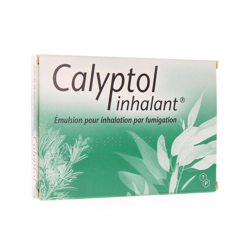 Calyptol inhalant - x10 ampoules