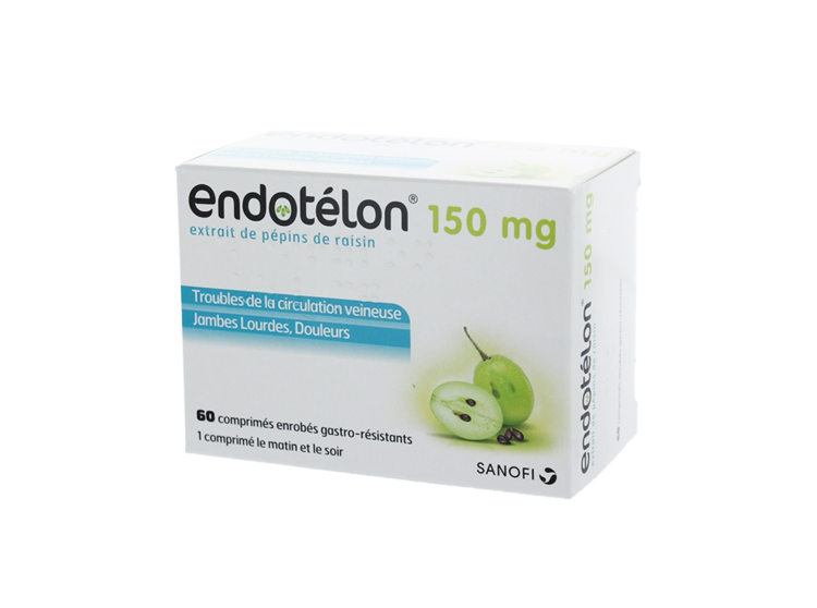 Endotelon 150 mg - 60 comprimés - Pharmacie en ligne ...