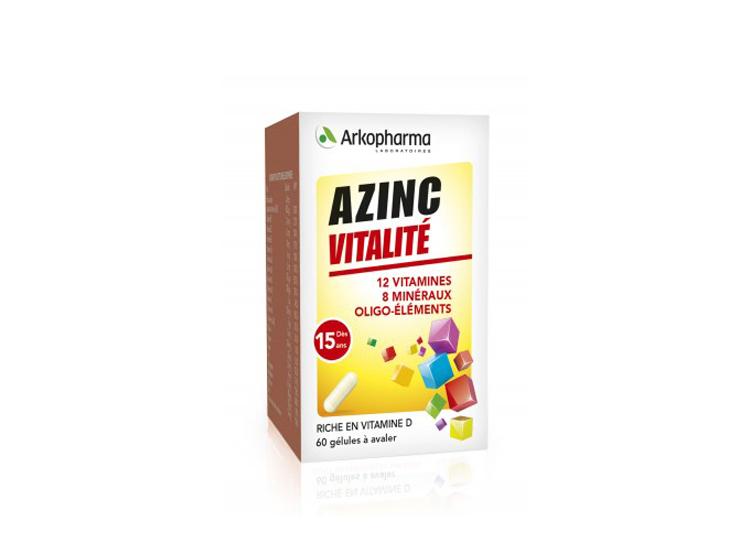 Azinc forme et vitalité - 60 gélules