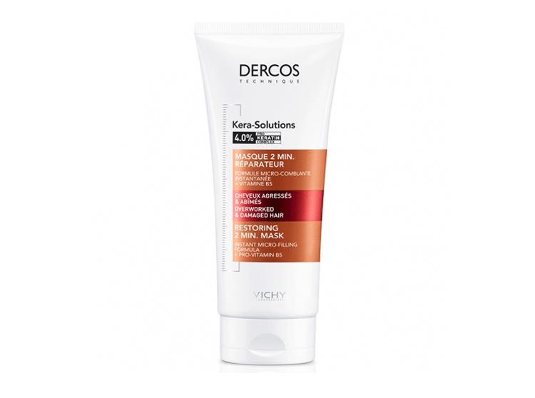 Vichy Dercos Kera-solutions masque  2min réparateur - 200ml