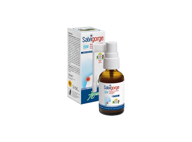 Aboca Salvigorge 2Act spray - 30ml