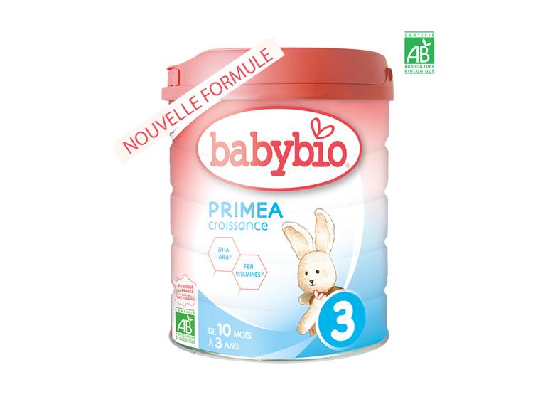 Babybio Primea 3 lait de croissance - 800g