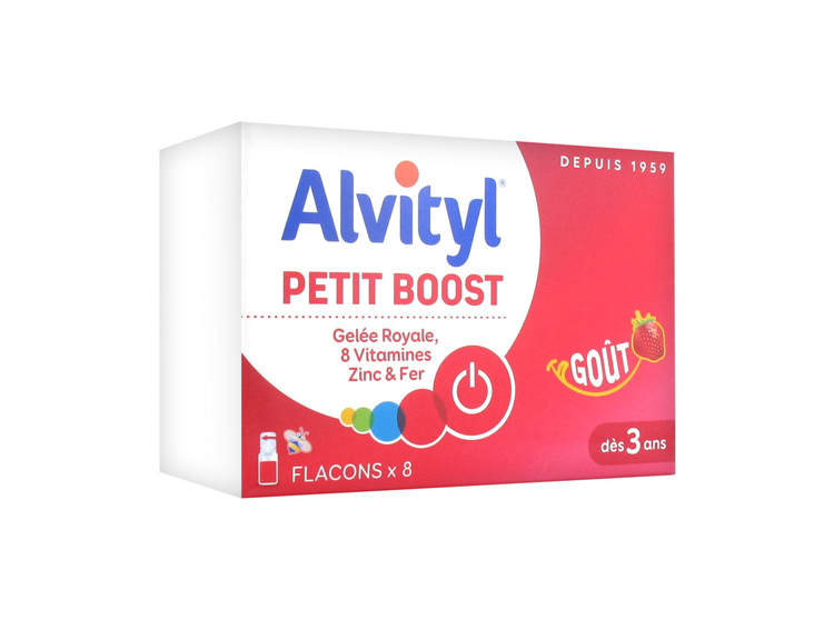 Alvityl petit boost dès 3 ans goût fraise - 10ml
