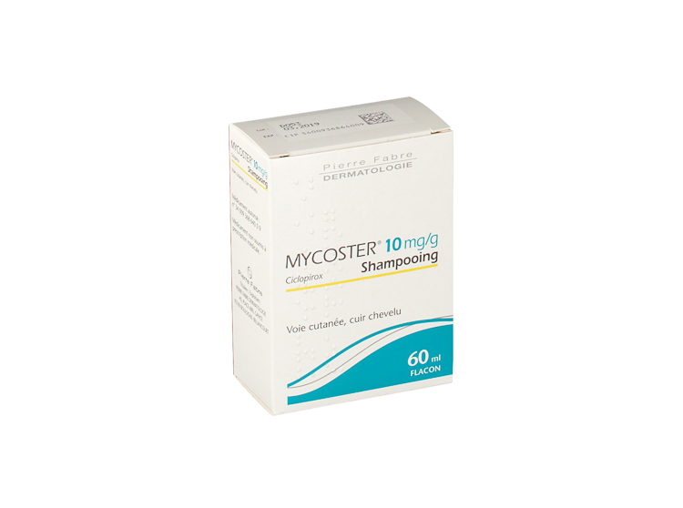 Mycoster 10mg/g shampooing - 60ml