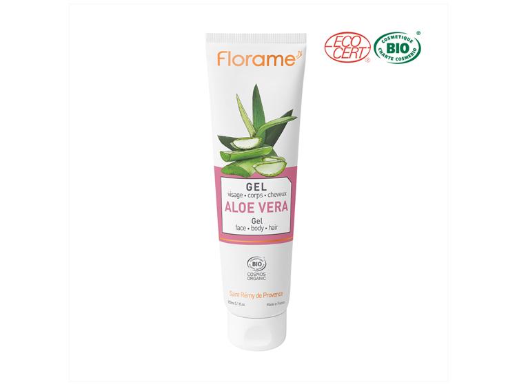 Florame gel aloe vera visage corps & cheveux BIO - 150ml